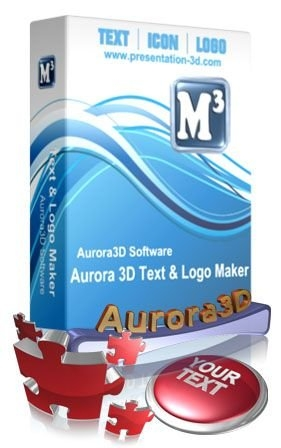 Aurora 3D Text & Logo Maker V12+Crack [2011] / Создание 3D+Crack [2011]