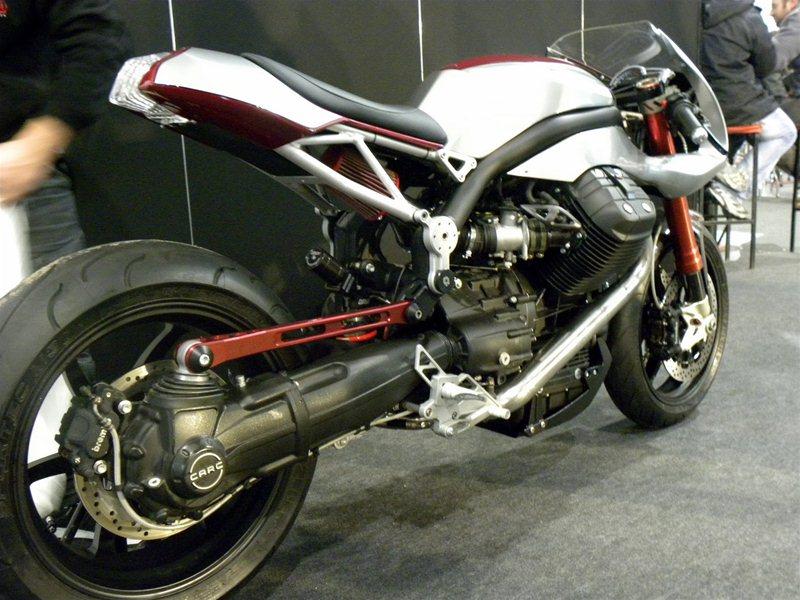 Мотоцикл Ipothesys на базе Moto Guzzi Griso