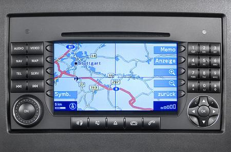Mercedes-Benz Navigations - DVD Comand APS  [ (NTG1) v.12.0, Europa, 2011 ]