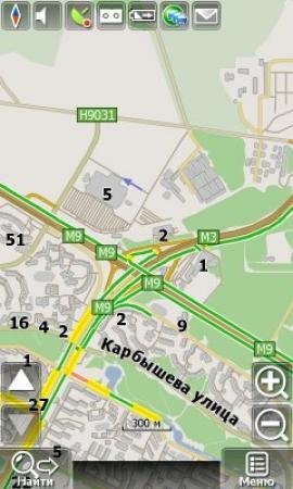 Карта Украины для Navitel  [ v. 3, 09.2011, RUS ]