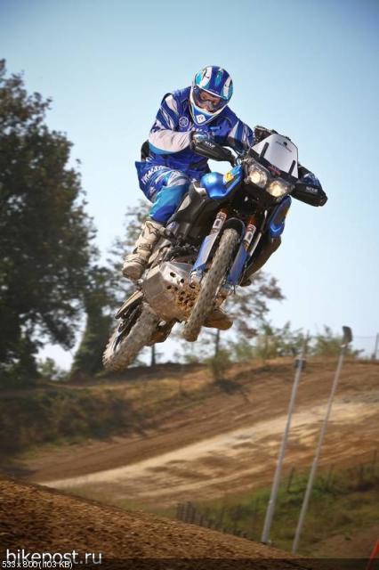 Мотоцикл Yamaha XTZ1200R Super Tenere для ралли Фараонов 2011