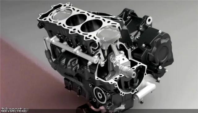 Рама и двигатель мотоцикла Kawasaki ZZR1400 (ZX-14R) 2012