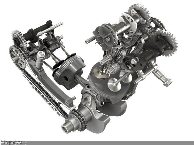 Новый двигатель Ducati Superquadro