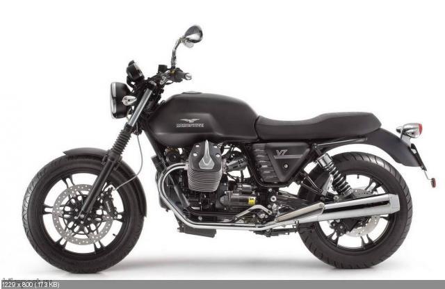 Мотоциклы Moto Guzzi V7, V7 Special и V7 Racer 2012
