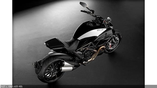 Мотоцикл Ducati Diavel Cromo 2012