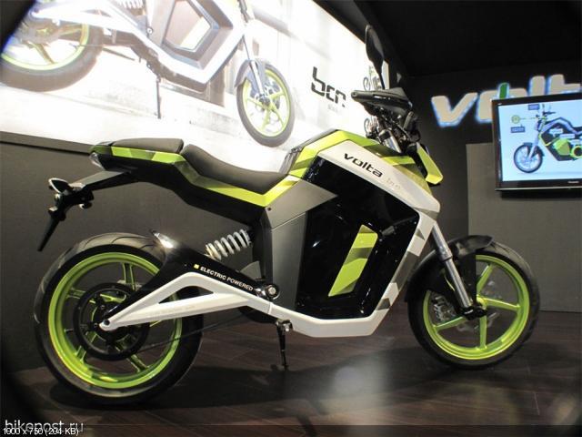 Электроскутеры Volta BCN City и Sport (2012)