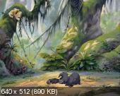 ������� � ������� (2 ������) / The Legend of Tarzan (2001) SATRip