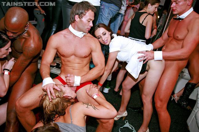 at Public parties sex