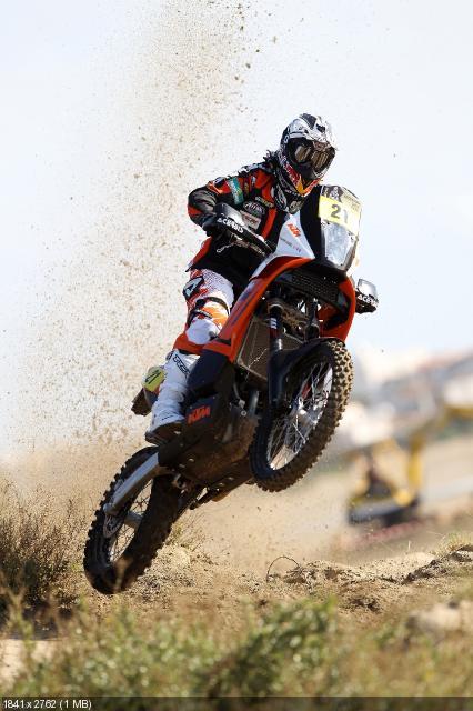 Эндуро KTM 450 Rally 2012