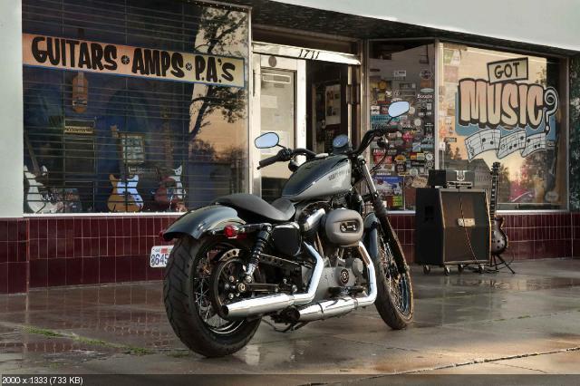 Анонс Harley-Davidson Nightster 2012