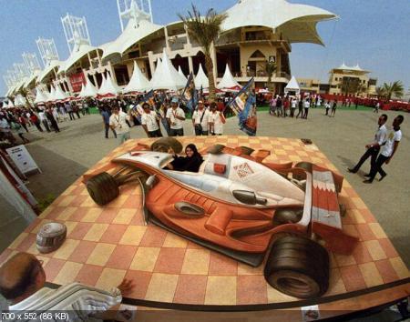 Потрясающие 3D-рисунки от художника Курта Веннера