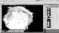 Photoshop Masking & Compositing: Hair (21.12.11) ENG