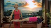 Йога спины: Здоровье, красота, сексуальность. Начальный уровень (2010) DVDRip