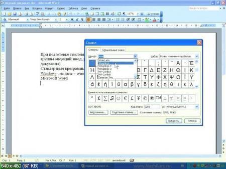 Обучающий Видеокурс: Основы работы - Word и Excel (Office 2003) (2011)