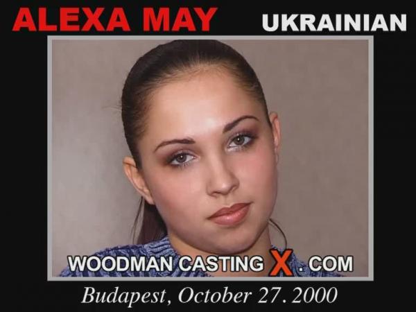 Alexa May / 19-летняя украинка строит из себя, мол зачем камера? что за вопросы?