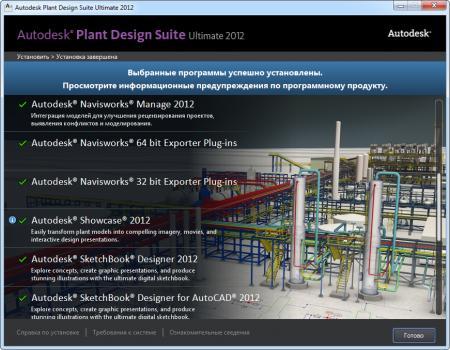 Autodesk Plant Design Suite Ultimate 2012 [ v.20.12, Eng/Rus ]