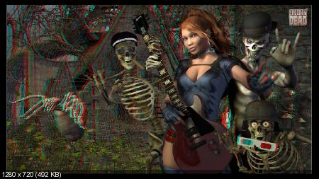 Рок-зомби 3D / The Rockin' Dead (2012/Rus/Eng/Repack by Dumu4)