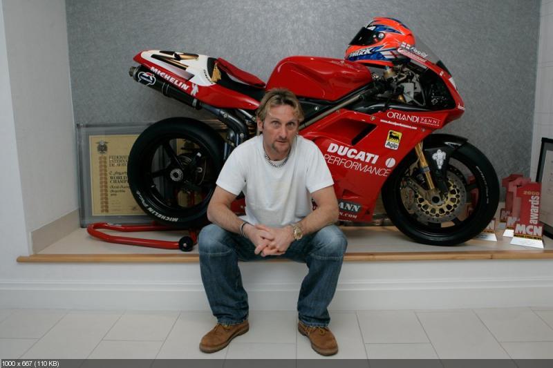 Карл Фогарти о мотоцикле Ducati 916