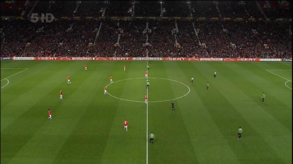 Лига Европы 2011-12 / 1/8 финала / Первый матч / Манчестер Юнайтед (Англия) - Атлетик Б (Испания)  HDTVRip 720p