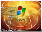 Windows7 Ultimate (x86) AUZsoft Yellow v9.12 (2012) Русский
