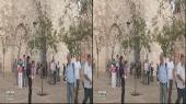 Место назначения 3Д: Иерусалим, Виа Долороза, Вифлеем. Израиль  Горизонтальная анаморфная